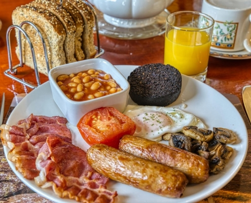 Breakfast at Acorn Guest House Inverness