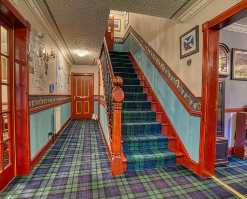 Stairway to Rooms at Acorn B&B